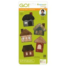 AccuQuilt GO Fabric Cutter Cutting Die Small Houses by Reiko Kato 55387