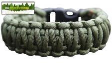 550 Paracord Bracelet Kit Bushcraft-Vert Olive