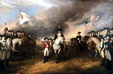 "13x19 Reprint Art Poster: ""Surrender of Lord Cornwallis"" at Yorktown, Virginia"