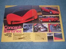 1988 Pontiac Banshee Concept Vehicle Pre-Fourth Generation Firebird Camaro