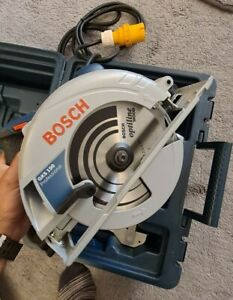 Bosch GKS 190 190mm Hand Held 110V Professional Circular Saw In Carry Case