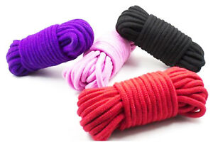 Cotton Rope Sash Cord Twine Washing Clothes Natural 100% Cotton - 8mm - 10 mtrs