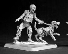Reaper Miniatures - 50069 - Zombie Dog Handler - Chronoscope