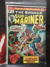 Marvel Comics The Savage Sub-mariner #71 GD - 1974