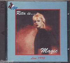 RITA PAVONE - Rita is magic - Live 1993 - 2 CD 1993 COME NUOVO / AS NEW
