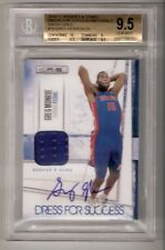 GREG MONROE 10/11 R&S Dress for Success auto RC #15 SN# 08/25 BGS 9.5/10
