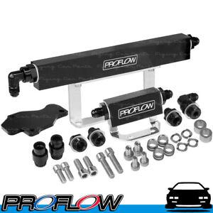 PROFLOW Mazda Rotary Series 6 Fuel Rail Kit Flow 2 Black
