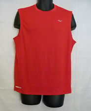 Everlast Men's Red Athletic Training Tank Top Sleeveless Fitted Size L