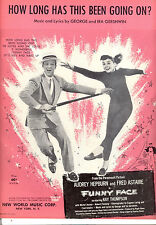 "FUNNY FACE  ""How Long Has This Been Going On?"" Fred Astaire Audrey Hepburn"