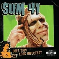 "SUM 41 ""DOES THIS LOOK INFECTED?"" CD NEUWARE !!!"