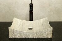 Stone sink bathroom vessel sink travertine marble sinks