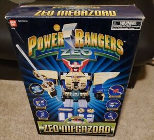 Vintage Power Rangers ZEO Deluxe Zeo Megazord Complete With Decals Bandai