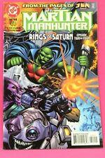 Martian Manhunter #14 Rings of Saturn 2000 DC Comic Comics VF