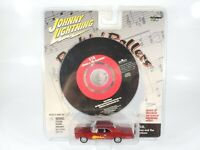 Johnny Lightning Rock N Rollers GTO Car and GTO CD Damaged Card/Package 1/64