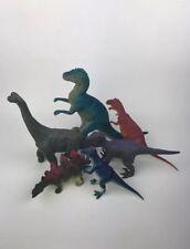 Brachiosaurus T-Rex Action Figure Kids Toys Lot Dinosaurs