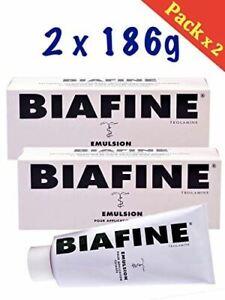 Biafine Emulsion hydratante 186g - Pack 2 x 186g