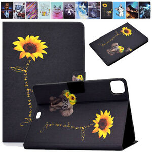 For iPad 10.2 8th 7th 6th 5th Air 4 3 2 Pro 11 Mini 5 4 Slim Leather Stand Cover