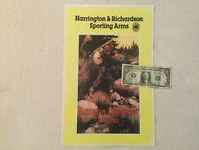 Harrington and Richardson gun poster display sign