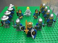 Lego NEW CASTLE LION ARMY Sword Soldier Knights Shield Minifigs 14 Minifigures