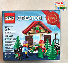 *NEW* Lego Creator Christmas Tree Stand 40082 Scene Holiday Set Promotional Rare
