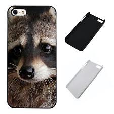 Racoon Animal plastic phone case Fits iPhone