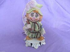 Aladdin Giftware lamp ceramic hobo clown works