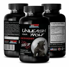 Super Hard Men Enhancement - Unleash Your Wolf 2170mg - Catuaba Bark Powder 1B