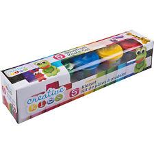 700g (1,41€/100g) Knete Knetmasse Softknete Modellierknete Basteln 5 Farben
