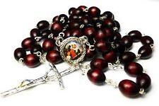 Saint ANNE relic cherry rosary Ann Anna  Anne Elizabeth patron grandparents