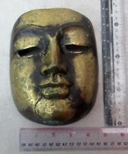 VINTAGE Bronze Buddha Mask Wat Phra That Lampang Luang