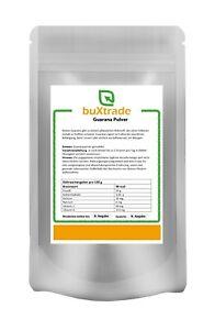 Guarana Pulver - gemahlen natürliches Koffein Caffeine ohne Zusätze Pflanzlich