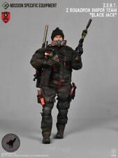 Mission Specific Z.E.R.T. Z Squadron Sniper Team Member Black Jack 1:6 MSE-XP004