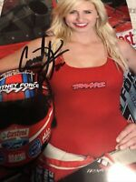 Courtney Force Signed 4x6 photo Autograph Force Racing