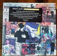 (3D2) Elton John To be Continued Boxset Rare LP Casette tape set missing #2