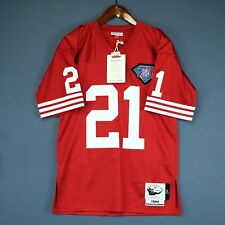 76d202860ce 100% Authentic Deion Sanders Mitchell & Ness 49ers NFL Jersey Size Mens 48  XL