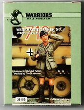 WARRIORS SCALE MODELS 35159 - WEHRMACHT TANKER NO.1  (TROPICAL)- 1/35 RESIN KIT