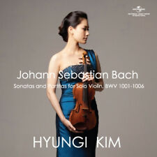 HYUNGI KIM - BACH SONATAS AND PARTITAS FOR SOLO VIOLIN BWV 1001-1006 2CD SEALED