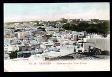 CPA  -- MAROC TANGER  TANGIERS  BIRDS EYE VIEW FROM PRISON  273.D  DOS SIMPLE
