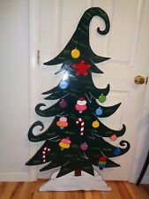 54-1/2'' X 31'' GRINCH WHOVILLE TREE CHRISTMAS YARD ART