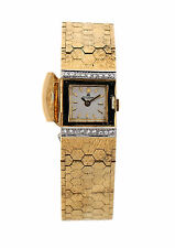 Bucherer Antique Ladies watch in 18k Yellow Gold and Diamonds