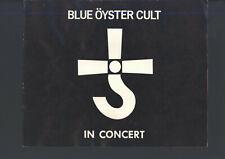 Blue Oyster Cult Spectres Tour Concert Program 1978