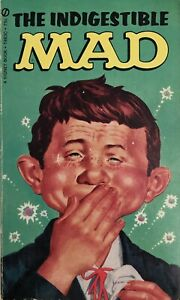 The Indigestible MAD - MAD Paperback Book - Fifth Printing 1968 - FN/VF