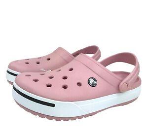 Crocs Women's Crocband II Clogs water friendly lightweight cute & flexible sz 10