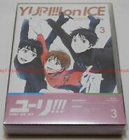 New Yuri on Ice Vol.3 First Limited Edition Blu-ray Ticket Case Booklet Japan