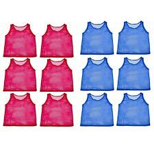 YOUTH Scrimmage Practice Jerseys Team Pinnies Sports Vest for Children Soccer