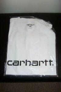 SMART MENS  COTTON  WHITE carhartt t shirt size XX LARGE