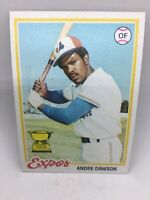 ANDRE DAWSON ROOKIE 1978 TOPPS MONTREAL EXPOS RC HALL OF FAME, Chicago Cubs