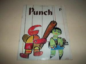 Punch magazine  March 28, 1962  British humor magazine Good