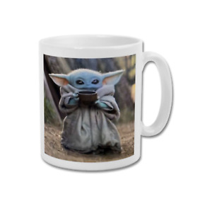 BABY YODA The Child Grogu with Soup Sippy Cup The Mandalorian Coffee Mug Tea Cup