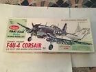 F4U4 Corsair Wood Model Airplane Kit #1004 Guillows New